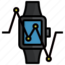smartwatch, devices, electronics, gadget, tools icon