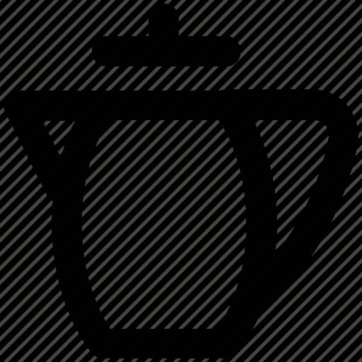 boiler, kettle, kitchen utensil, pot, pouring, tea kettle, teapot icon