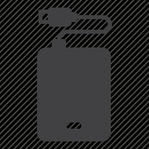 external, harddisk, harddrive icon