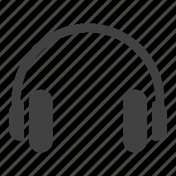 gadget, headphones, music, sound icon