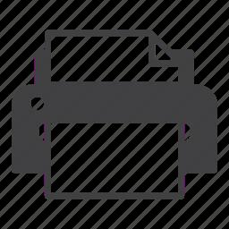 device, hardware, printer icon