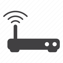 modem, router, wifi icon