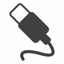 cable, plug, usb icon