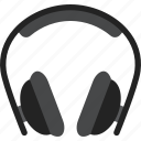 audio, head, headphones, phones icon