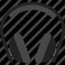 audio, head, headphones, phones icon