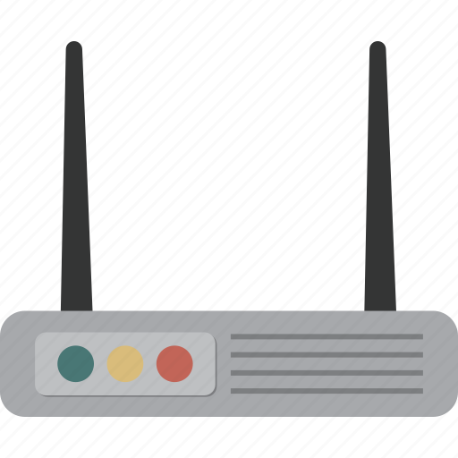 internet, network, router, wifi icon