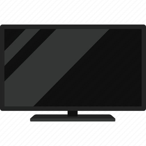display, flatscreen, monitor, television, tv icon
