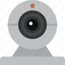 cam, camera, webcam icon