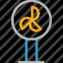 air fan, electric fan, fan, pedestal fan, standing fan, table fan, ventilator fan icon