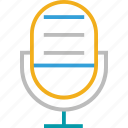 audio, conically microphone, microphone, music, recording, sound icon