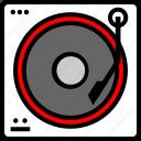dj, mixer, music, player, remix icon