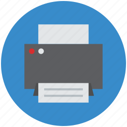 inkjet printer, laser printer, office equipment, printer, printing machine icon