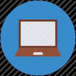 laptop, laptop computer, laptop screen, macbook, notebook icon