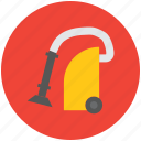 cleaner, dust cleaner, dust vacuum, vacuum, vacuum cleaner icon