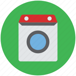 electric appliance, home appliances, laundry machine, washer dryer, washing machine icon