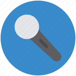 mic, microphone, mike, multimedia, wireless mic icon
