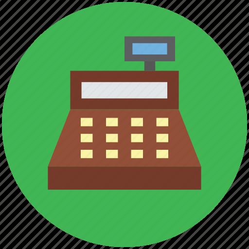 cash register, cashier machine, payment register, register machine, till machine icon