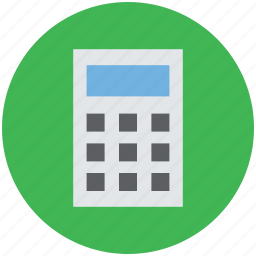 accounting, calculating device, calculator, counting, finance, math icon