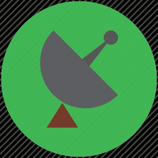 dish, localization, radar signal, radio radar, satellite icon