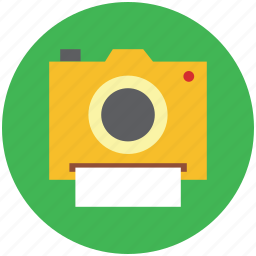 camera, image, picture, polaroid icon