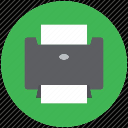 inkjet, inkjet printer, laser printing, print, print machine, printer, printing machine icon