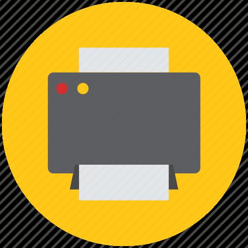 inkjet, inkjet printer, print, print machine, printer, printing machine icon