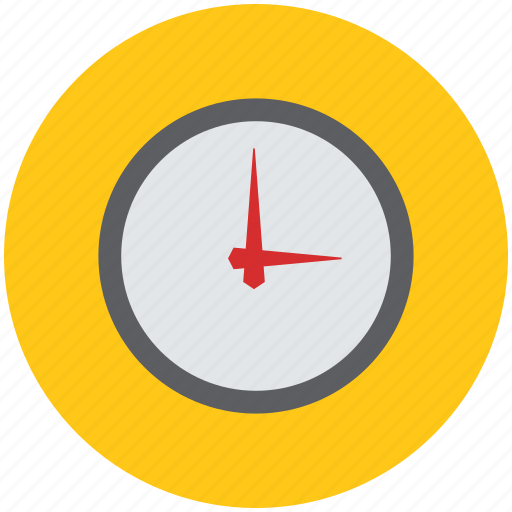 clock, time, wall clock, watch, watch trailer icon