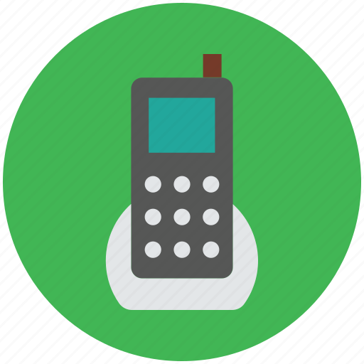 cell phone, cellular phone, mobile device, mobile phone, walkie talkie, wireless phone icon