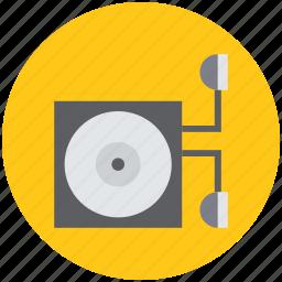 cd, cd pack, disc, dvd, dvd pack, music, record, vinyl icon