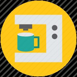 coffee machine, coffee maker, drip coffee maker, electric coffee maker, tea maker icon