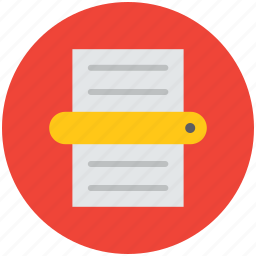 file, note, paper, text document, text paper icon