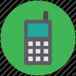 cordless, cordless phone, handheld transceiver, intercom, walkie talkie icon