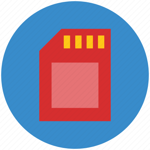 memory card, mobile memory card, storage card icon
