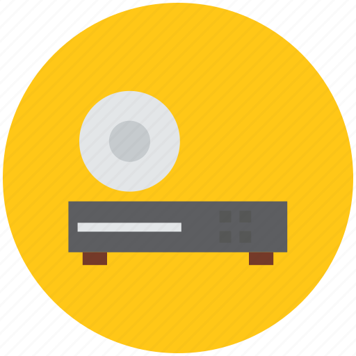 cd player, cd reader, dvd player, dvd reader, dvd with cd, player icon
