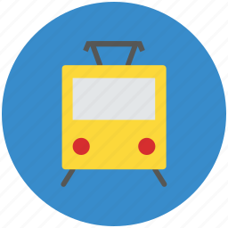 metro, rail, train, tram, transport, tube, tube train icon