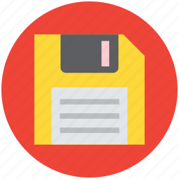 diskette, drive, floppy, floppy disk, memory icon
