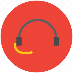 ear cable, earbuds, earpiece, entertainment, headphone icon