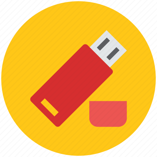 flash drive, memory stick, pen drive, storage device, usb icon