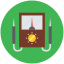 digital multimeter, fluke multimeter, multimeter, power meter, power probe meter icon