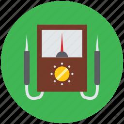 digital multimeter, fluke multimeter, multimeter, power meter, power probe meter icon