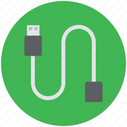 data cable, micro usb cable, usb, usb charging cable, usb data cable icon