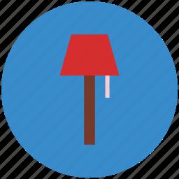 desk light, lamp, light, light bulb, night lamp, room lantern icon