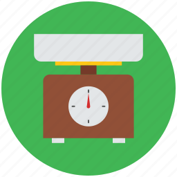 digital scale, food scale, kitchen scale, weighing machine icon