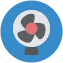 air fan, electric fan, electronics, fan, table fan icon