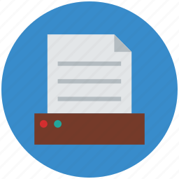document, documents drawer, file drawer, paper drawer icon