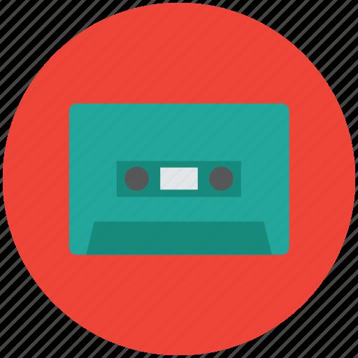 audio, audio cassette, cassette, compact cassette, music cassette, tape deck icon