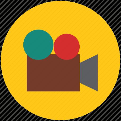 camcorder, camera, film camera, filming, recording, video, video camera icon