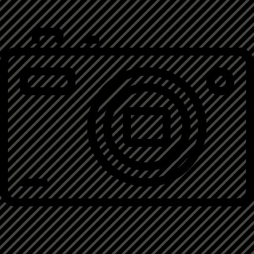 camera, compact, digital, gadget, photo icon