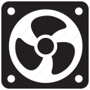 air, appliance, cooler, electric, electronics, fan, ventilator icon