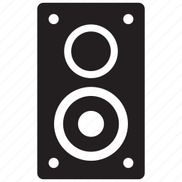 audio, hifi, media, multimedia, music, sound, system icon